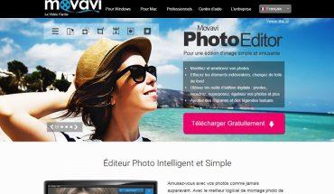 Movavi Photo Editor est un logiciel de retouche photo facile à utiliser.