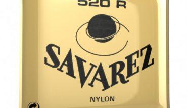 Cordes Savarez rouge: la qualité de la fabrication française.